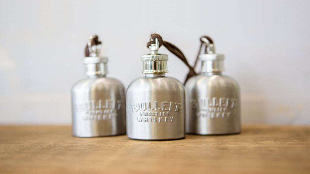 Bulleit Boilermaker Flasks