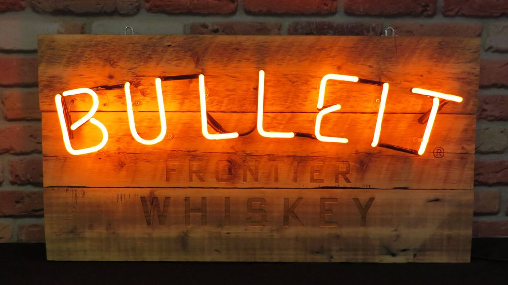 Bulleit Bourbon Neon Sign