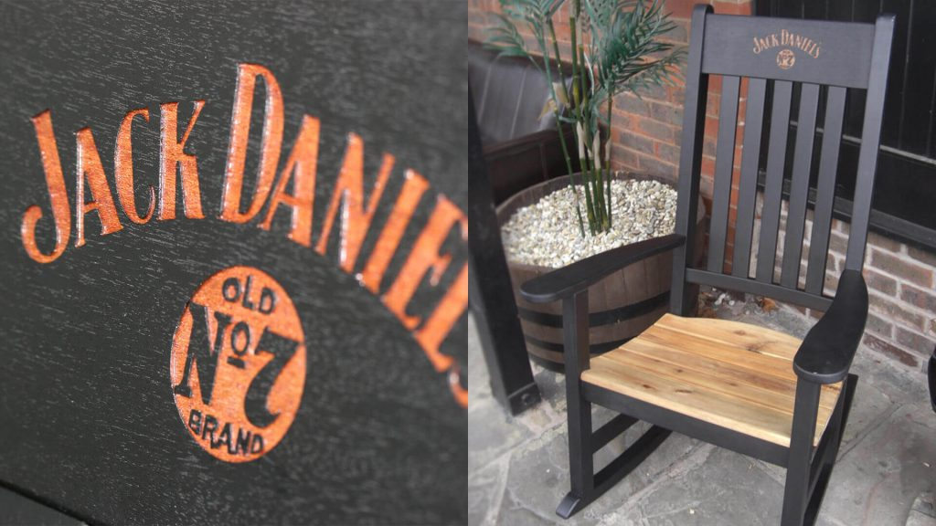 Jack Daniels Rocking Chair